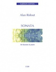 Sonata by Ridout for Bassoon published by Emerson