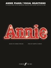 Annie - Vocal Selections published by Faber