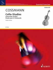 Cossmann: Cello Studies published by Schott