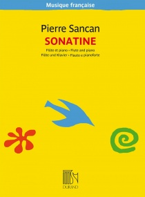 Sancan: Sonatine for Flute published by Durand