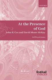 At the Presence of God SATB by Cox published by OUP