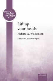 Lift up your heads SATB by Williamson published by OUP