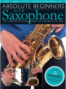 Absolute Beginners: Alto Saxophone published by Wise (Book/Online Audio)