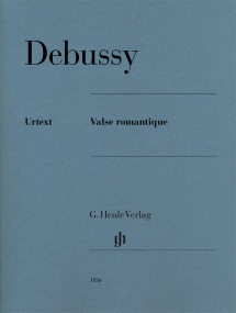 Debussy: Valse romantique for Piano published by Henle
