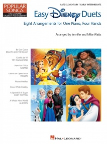 Easy Disney Duets: Piano Duet published by Hal Leonard