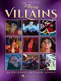 Disney Villains published by Hal Leonard