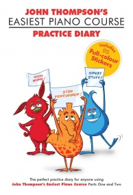 John Thompson's Easiest Course: Practice Diary published by Willis