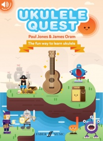 Ukulele Quest published by Faber (Book/Online Audio)