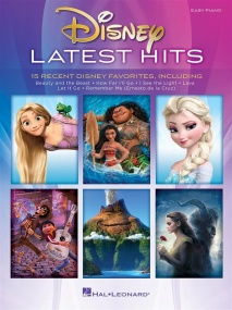 Disney Latest Hits for Easy Piano published by Hal Leonard