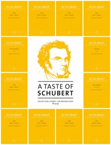 A Taste of Schubert (Medium Voice) published by Barenreiter