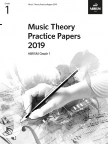 Music Theory Past Papers 2019 - Grade 1 published by ABRSM