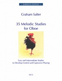 35 Melodic Studies by Salter for Oboe published by Emerson