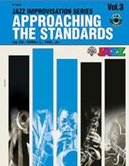 Approaching the Standards Volume 3 in Bb Book & CD published by Warner