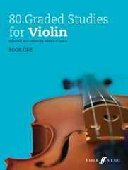 80 Graded Studies for Violin Book 1 published by Faber