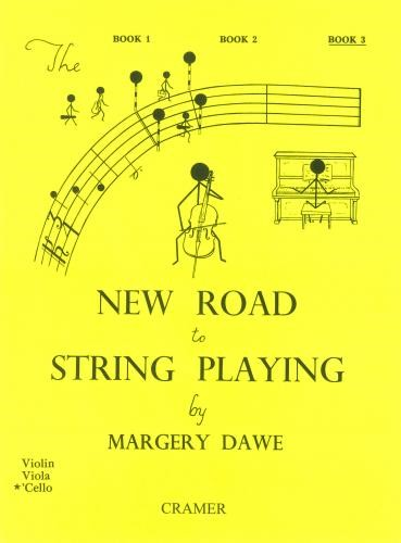 New Road To String Playing Cello Book 3 by Dawe published by Cramer