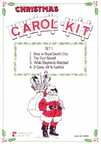 Christmas Carol Kit Set 1 for Flexible Ensemble published by Cramer Music