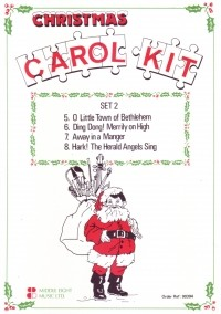 Christmas Carol Kit Set 2 for Flexible Ensemble published by Cramer Music