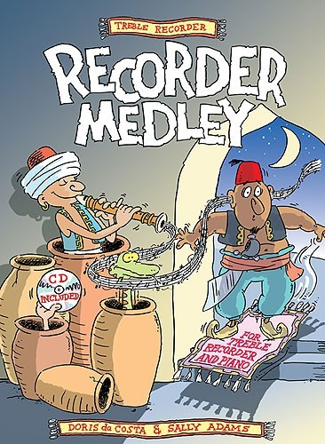Treble Recorder Medley Book & CD published by Cramer