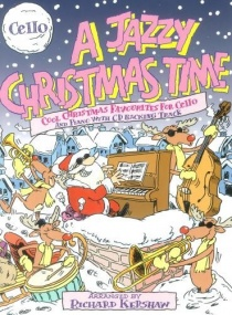 A Jazzy Christmas Time Book & CD for Cello published by Cramer