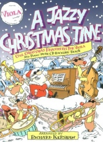 A Jazzy Christmas Time Book & CD for Viola published by Cramer