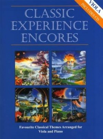 Classic Experience Encores for Viola Book & CD published by Cramer