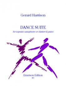Harrison: Dance Suite for Soprano Saxophone published by Emerson