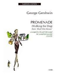 Gershwin: Promenade (Walking the Dog)  for Alto Saxophone published by Emerson