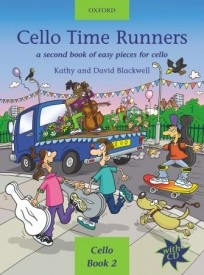 Cello Time Runners Book & CD published by OUP