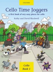 Cello Time Joggers Book & CD published by OUP