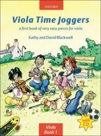Viola Time Joggers Book & CD published by OUP