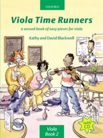 Viola Time Runners Book & CD published by OUP