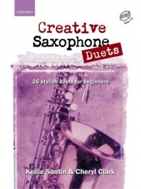 Creative Saxophone Duets Book & CD published by OUP