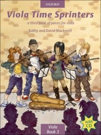Viola Time Sprinters Book & CD by Blackwell published by OUP