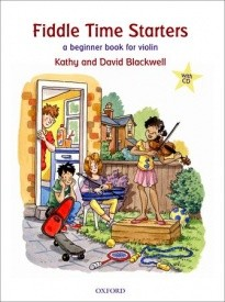 Fiddle Time Starters Book & CD for Violin published by OUP