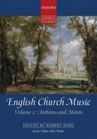 English Church Music, Volume 1: Anthems and Motets published by OUP