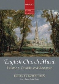 English Church Music, Volume 2: Canticles and Responses published by OUP