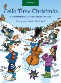 Cello Time Christmas Book & CD published by OUP