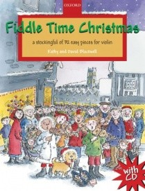 Fiddle Time Christmas Book & CD for Violin published by OUP