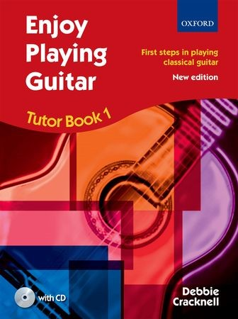 Enjoy Playing Guitar : Tutor Book 1 + CD published by OUP