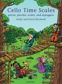 Cello Time Scales by Blackwell published by OUP