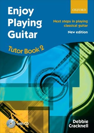 Enjoy Playing Guitar : Tutor Book 2 + CD published by OUP