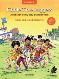 Fiddle Time Joggers Book & CD for Violin published by OUP