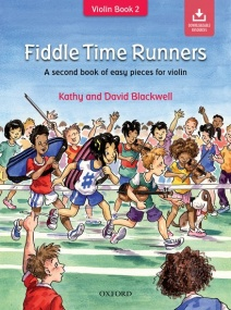 Fiddle Time Runners for Violin published by OUP (Book/Online Audio)