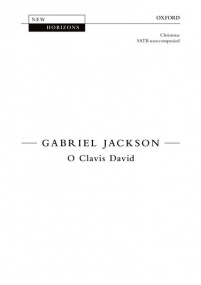O Clavis David SATB by Jackson published by OUP