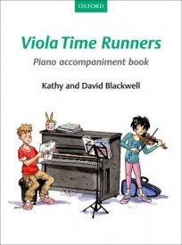 Viola Time Runners Piano Accompaniment Book published by OUP