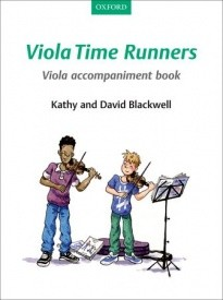 Viola Time Runners Viola Accompaniment Book published by OUP