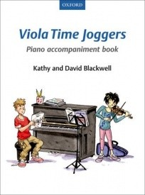 Viola Time Joggers Piano Accompaniment Book published by OUP