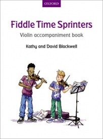 Fiddle Time Sprinters Violin Accompaniment published by OUP