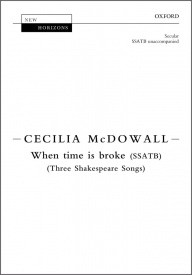 When time is broke SSATB by McDowall published by OUP