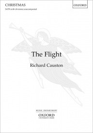 Causton: The Flight SATB published by OUP